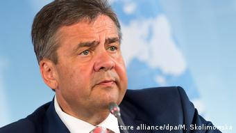 Außenminister Sigmar Gabriel (Picture alliance/dpa/M. Skolimowska)