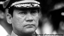 General Manuel Antonio Noriega (picture-alliance/dpa/Bentley)