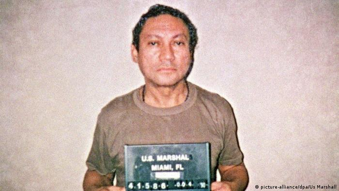 Manuel Antonio Noriega (picture-alliance/dpa/Us Marshall)