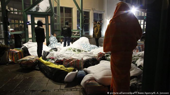 Schweden Flüchtlinge in Malmö (picture-alliance/dpa/TT News Agency/S.-A. Jonsson)