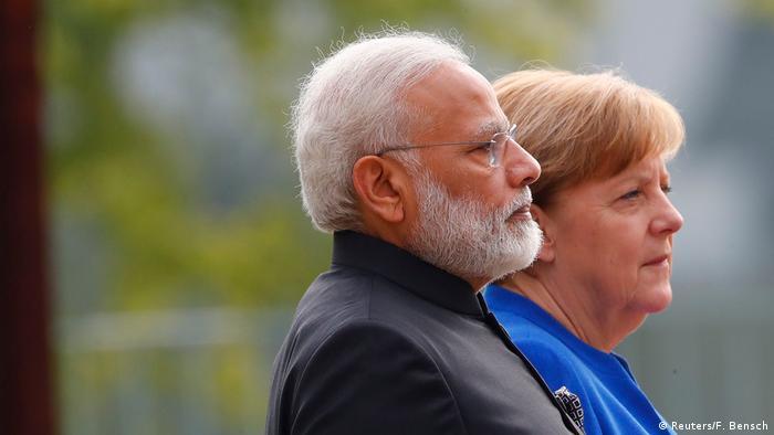 Deutschland Angela Merkel & Narendra Modi in Berlin