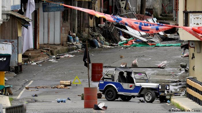 Philippinen Rückeroberung der Stadt Marawi - Kampf gegen den IS (Reuters/E. de Castro)