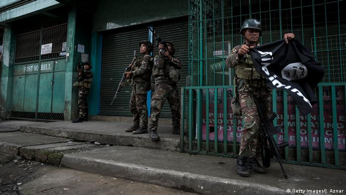 Soldiers in Marawi (Getty Images/J. Aznar)