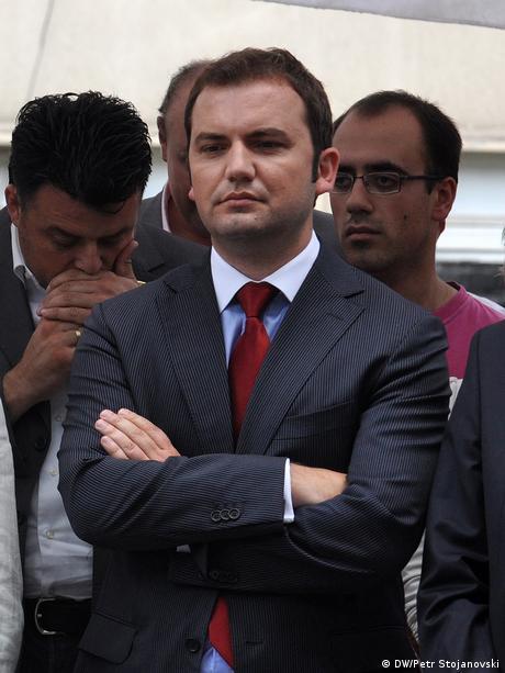 Minister der neuen mazedonischen Regierung (DW/Petr Stojanovski)