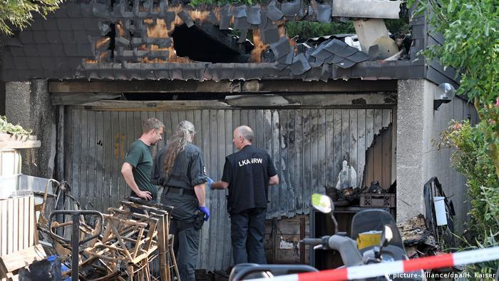 Deutschland Explosion bei Munitionssammler