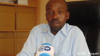 Francis Musoni Coordinator of reintegration program- Mutombo Camp