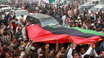 Gedenkveranstaltungen für Benazir Bhutto