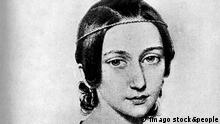 Lithography of Clara Schumann (Imago stock&people)