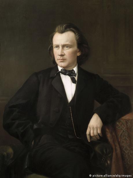 Johannes Brahms / Gemaelde von Jagemann - Johannes Brahms / Painting / Jagemann -