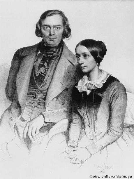 Robert u. Clara Schumann / E. Kaiser - Robert and Clara Schumann / E. Kaiser - (picture-alliance/akg-images)