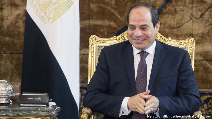 Ägypten Präsident Abdel Fattah Al-Sisi (picture -alliance/Sputnik/Vitaliy Belousov)