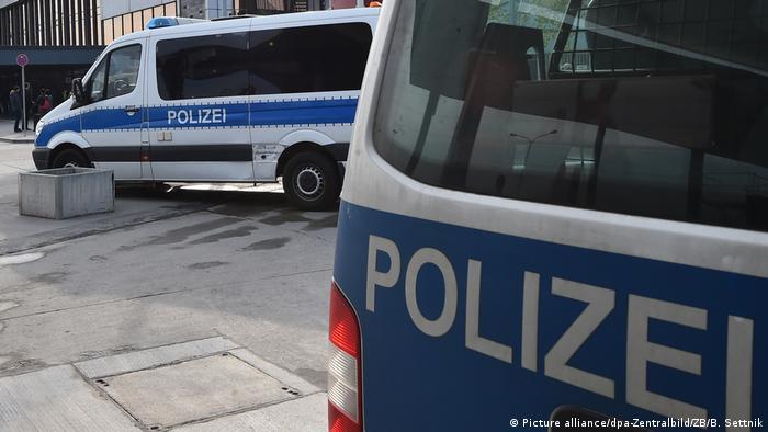 Машины немецкой полиции