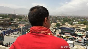 aus Deutschland nach Afghanistan abgeschobene Afghanen (DW/S. Petersmann)