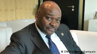 Berlin Raul Danda aus Angola bei Angola Forum 2017