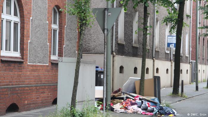 Улица в дуисбургския квартал Марксло