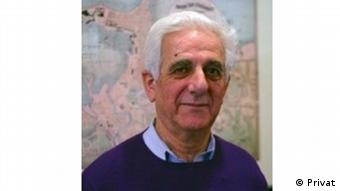 Sociólogo palestino Salim Tamari.dirige Instituto de Estudos Palestinos da Universidade de Georgetown, EUA