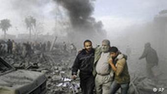 Israel Palästinenser Angriff auf Gaza Verletzter in Rafah