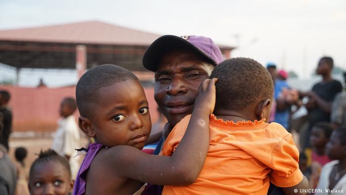 Refugiados congoleses na província da Lunda Norte (Foto de Arquivo/2017)