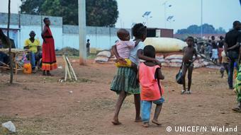 Angola flüchtchtlings Kinder aus Kongo