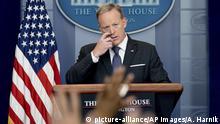USA Sprecher des Weißen Hauses - Sean Spicer