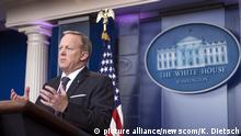 White House Press Secretary Sean Spicer holds the daily press briefing at the White House in Washington, D.C. on May 30, 2017. Photo by Kevin Dietsch/UPI Photo via Newscom picture alliance |