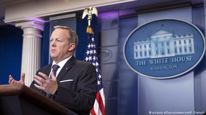 Sean Spicer (picture alliance/newscom/K. Dietsch)