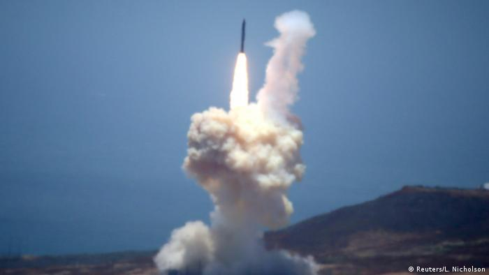 USA Raketentest ICBM (Reuters/L. Nicholson)