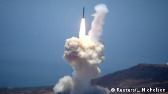 USA Raketentest ICBM