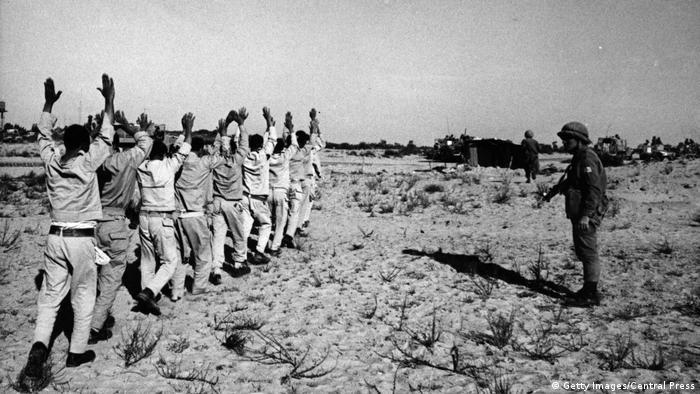 Sechstagekrieg – Israel – Gefangene