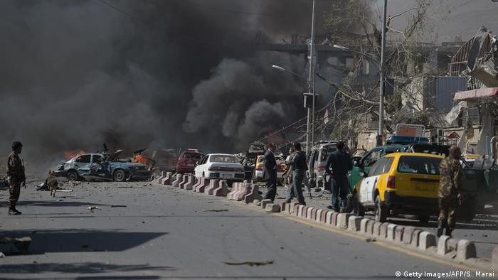 Afghanistan Explosion in Kabul (Getty Images/AFP/S. Marai)