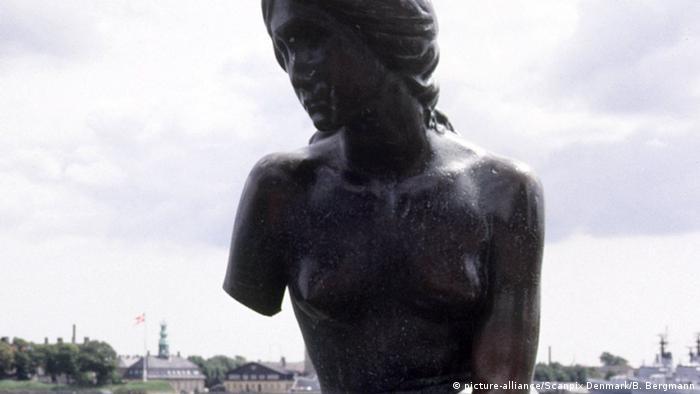 Dänemark Statue Kleine Meerjungfrau (picture-alliance/Scanpix Denmark/B. Bergmann)