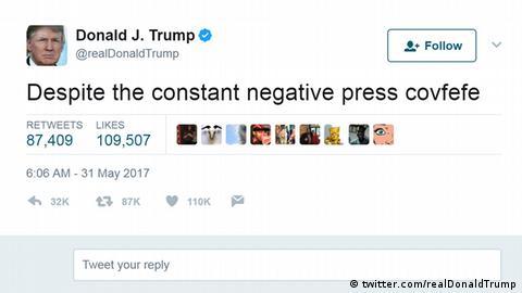 präsident trump satire