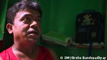 Dulal Sarkar, the winner of IFFI best actor award for 'Chhotoder Chhobi', which deals with dwarfs, regerts that people like him were not considered as physically challeged. (c) DW/Sirsho Bandopadhyay