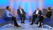 Quadriga Russisch, Thema: Russischsprachige Politiker streben Bundestagsmandate an Bilder aus der DW-Sendung Quadriga
