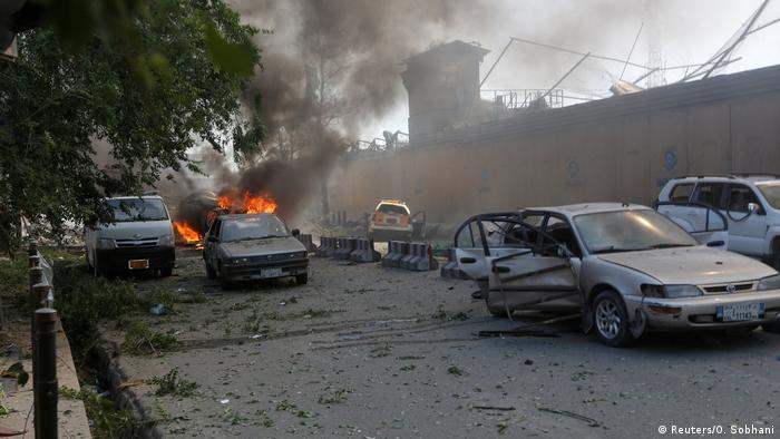 Afghanistan Explosion in Kabul