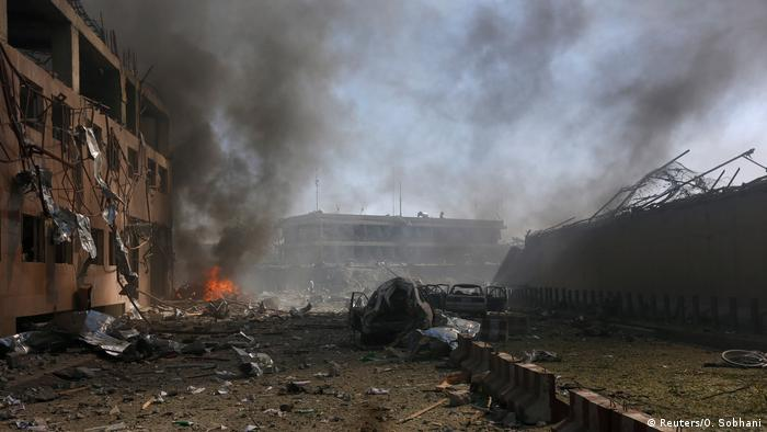Afghanistan Explosion in Kabul (Reuters/O. Sobhani)