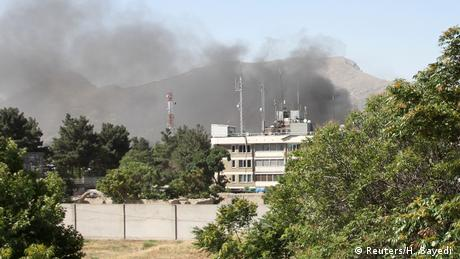 Afghanistan Explosion in Kabul, (Reuters/H. Sayedi )