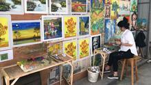 Kunstkopien für den Weltmarkt in Dafen, Shenzhen, China