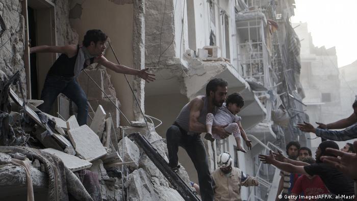 Syrien | Aufnahmen des Kriegsfotografen Karam al-Masri (Getty Images/AFP/K. al-Masri)