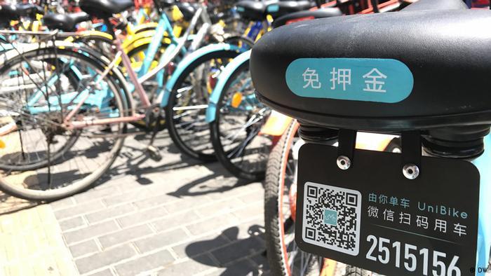 China Peking Rückkehr der Fahrräder in Chinas Metropolen (DW)