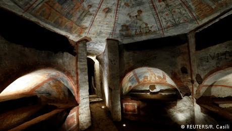Italien   Domitilla Katakomben Rom (REUTERS/R. Casili)