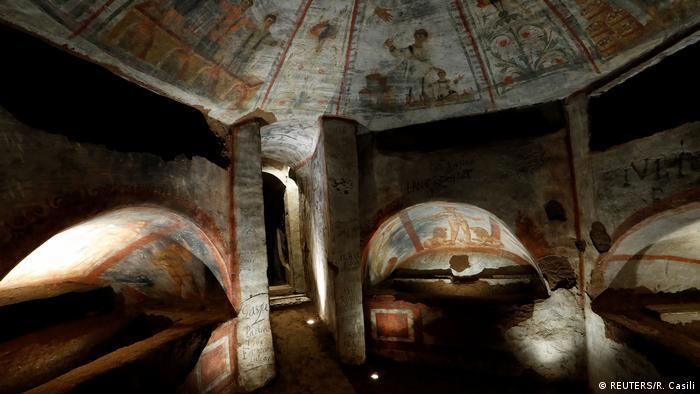 Italien | Domitilla Katakomben Rom (REUTERS/R. Casili)