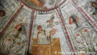 Εντυπωσιακές τοιχογραφίες κάτω από τη Via delle Sette Chiese