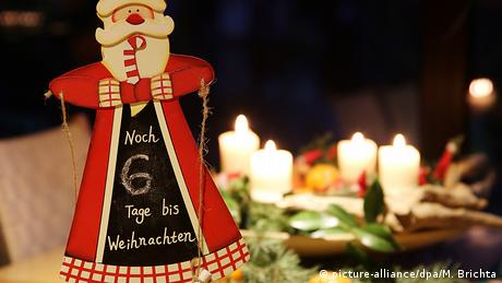 Weihnachten - Adventskranz (picture-alliance/dpa/M. Brichta)