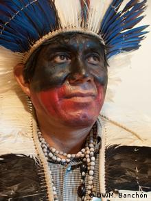 Europäisches Parlament Konferenz Guaraní-Kawioá-Indianer | Kadio Veron (DW/M. Banchón)
