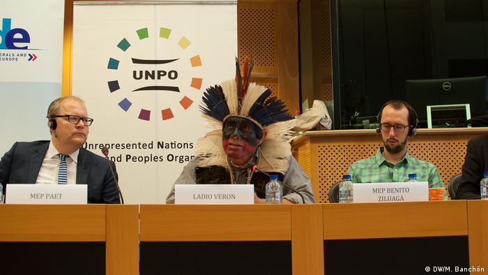 Brasil: Guaranis-kaiowás fazem apelo no Parlamento Europeu