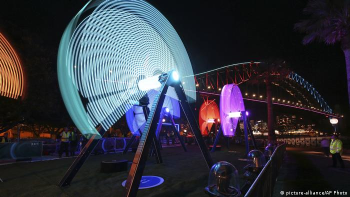 Lichtfestspiele | Sydney Vivid Festival (picture-alliance/AP Photo)
