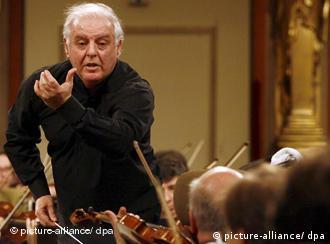 Argentine-Israeli conductor Daniel Barenboim