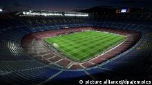 Soccer - UEFA Champions League - Round of 16 - Second Leg - Barcelona v AC Milan - Nou Camp. A general view of the Nou Camp Stadium URN:16026739 |
