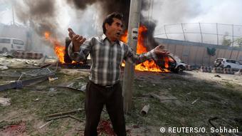 Afganistan Deutsche Botschaft bei Anschlag in Kabul massiv beschädigt